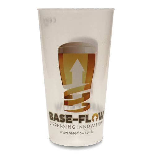 Base-Flow System Half Pint Cup With Logo Art Work