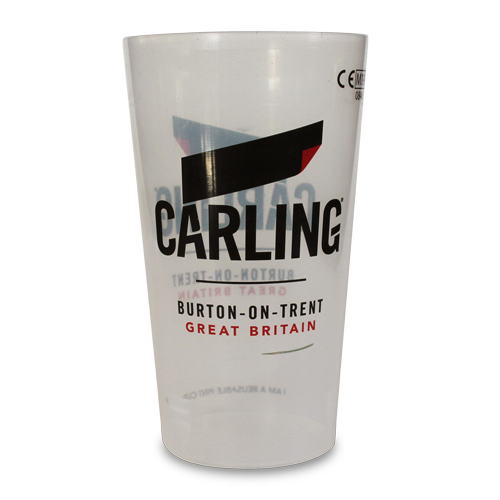Carling Reusable Festival Pint Cup