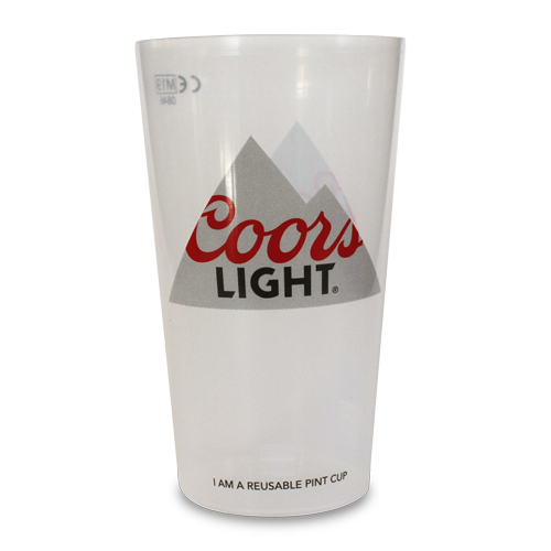 Coors Reusable Festival Pint Cup
